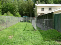Fenced Play Area - Click to Enlarge, close window when done