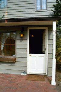 House � back dutch door - Click to Enlarge, close window when done