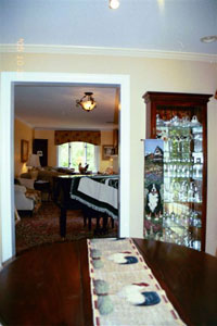 House � from dining room looking into living room - Click to Enlarge, close window when done