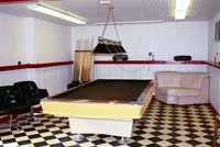 2nd floor warehouse – billiards room - Click to Enlarge, close window when done
