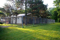 Rear of Kennel - Click to Enlarge, close window when done