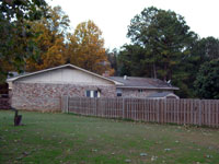 Back of House from Kennel - Click to Enlarge, close window when done