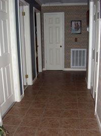 Hall to Bed & Bath - Click to Enlarge, close window when done