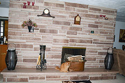 Family Room Fireplace - Click to Enlarge, close window when done