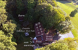 House from Above with Labels - Click to Enlarge, close window when done