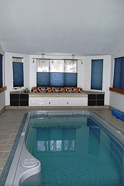 Pool is 17L x 8W x 4D - Click to Enlarge, close window when done
