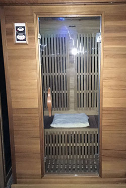 Two Person Infrared Sauna - Click to Enlarge, close window when done