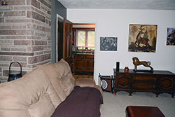 Upstairs Family Room Into Kitchen - Click to Enlarge, close window when done