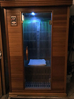 West Coast Sauna - Click to Enlarge, close window when done