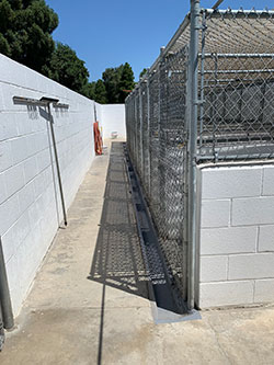 Outside Bldg. 1 Kennels