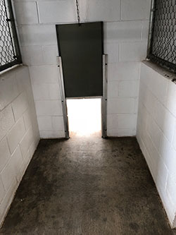 Inside Bldg. 2 Kennel