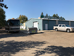 Front Bldg., RV prking & Hook-ups/Dump 