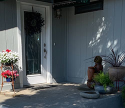 Residence Front Door  - Click to Enlarge, close window when done