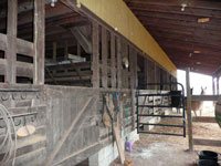 Barn Stall Area - Click to Enlarge, close window when done