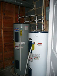 Double Water Heaters - Click to Enlarge, close window when done